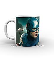 Кружка Первый мститель Captain America