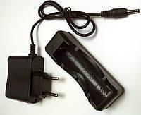 Универсальное зарядное устройство универсальое для  Li-Ion аккумуляторов 3.7-4.2v и фонарей полиция
