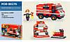 Конструктор SLUBAN Пожарные спасатели M38-B0276