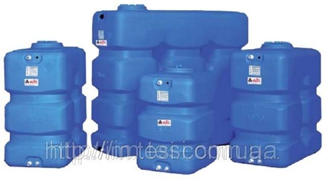 Накопительный бак для воды и других жидкостей ELBI CP 500, емкость 500л, прямоугольный