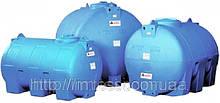 Накопительный бак для воды и других жидкостей ELBI CHO 1000, емкость 1000л, круглый горизонтальный