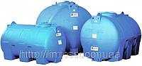 Накопительный бак для воды и других жидкостей ELBI CHO 300, емкость 300л, круглый горизонтальный