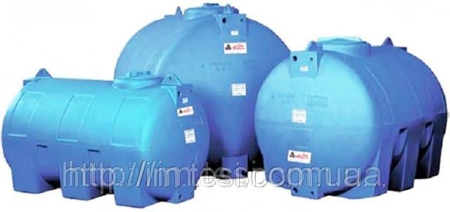 Накопичувальний бак для води та інших рідин ELBI CHO 2000, ємність 2000л, круглий горизонтальний
