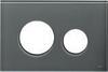 Лицевая панель ТЕСЕloop modular стекло, серо-голубой