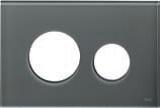 Лицевая панель ТЕСЕloop modular стекло, серо-голубой, фото 1