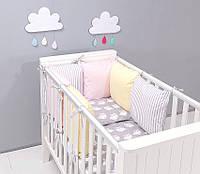 Набор детской постели с модульной охранкой №2