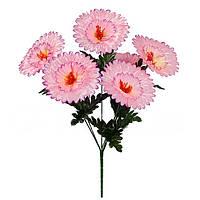Букет искусственных цветов  Маргаритка крупная , 42 см