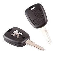 Корпус ключа Peugeot 307 406 Partner 206 с лезвием NE73