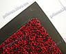 Коврик грязезащитный Хлопок, 40х60см., красный, фото 7