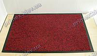 Коврик грязезащитный Хлопок, 60х90см., красный