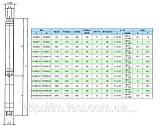 Свердловинний насос FS 98 E/21, 4 кВт, фото 3