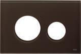 Лицевая панель ТЕСЕloop modular стекло, кофе