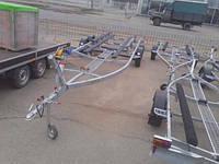Прицеп для катера 7.5м, 2 тонны. Без тормозной системы., фото 1