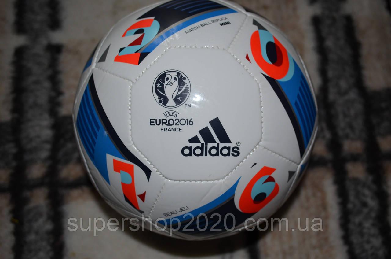 Футбольный мяч Adidas EURO 2016 FRANCE Mini розмер 1 - Supershop2020 в  Ивано-Франковске 54d555445a134