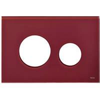 Лицевая панель ТЕСЕloop modular стекло, рубиновый, фото 1