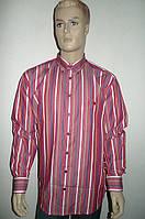 Мужская красная хлопковая рубашка, фото 1