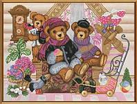Набор для вышивания нитками Мишкин дом СР 1185