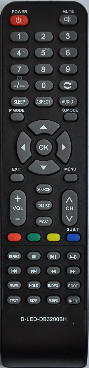 Пульт от телевизора BRAVIS. Модель BRAVIS LED - DB3200BH