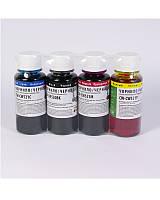 Набор водорастворимых чернил ColorWay CW-CW520 / CW521SET C / M / Y / BK (4x200 ml) (CW-CW520 / CW521SET02) (С