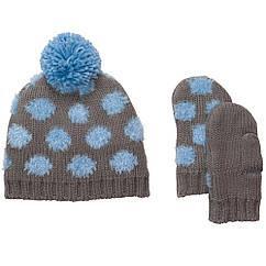 Набор шапка, варежки ТМ Ош кош