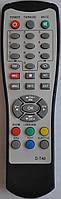 Пульт от тюнера эфирного цифрового телевидения Т2 World Vision. Модель D-T40/T43/T53