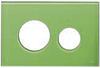 Лицевая панель ТЕСЕloop modular стекло, зеленый