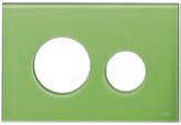 Лицевая панель ТЕСЕloop modular стекло, зеленый, фото 1