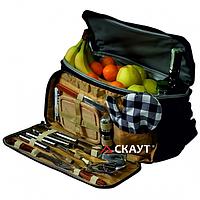 Термосумка в комплекте с походным набором для пикника Скаут (0719)