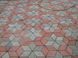 Укладка тротуарной плитки. Наши работы
