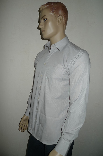Серая мужская рубашка AYGEN (Турция)