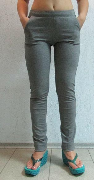 05e553b1b4e3 Женские спортивные штаны AOBOQIS (13117) серые код 095 Б  продажа ...