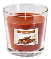 Корица свеча ароматическая в стекле  1 шт