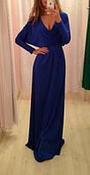 Платье, ткань кристалл,  черный, молоко, зеленый, красный, голубой, эллектрик, шоколад, бордо, коралл ЛЯ№ 4288