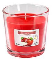 Яблоко свеча ароматическая в стекле  1 шт