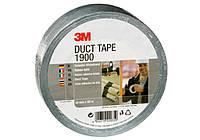 Односторонняя универсальная армированная клейкая лента Duct Tape 50ммх50м, серебристая 3М 1900
