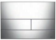 Панель смыва ТЕСЕsquare хром глянцевый, фото 1