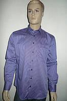 Мужская рубашка AYGEN (Турция) сиреневого цвета, фото 1