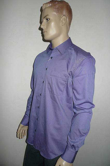Мужская рубашка AYGEN (Турция) сиреневого цвета
