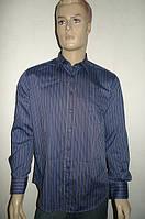 Синяя мужская рубашка, фото 1