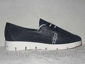 Кроссовочки женские стильные синего цвета, фото 2