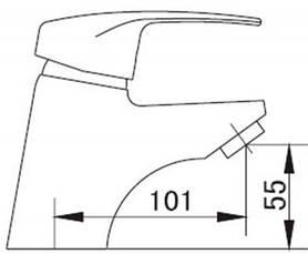 Смеситель для раковины SMART Тренд SM054006AA , фото 3