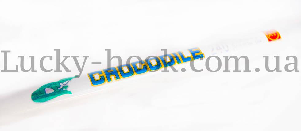 Мощный cпиннинг Crocodile 2,10м монолит, фото 2