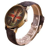 Кварцевые наручные часы на джинсовом ремешке Britania Rock Gray