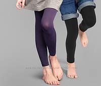 Леггинсы капроновые 100 дэн Tchibo Германия 134-140 рост фиолетовый цвет