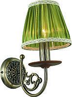 Бра Altalusse INL-6117W-01 Antique Brass & Walnut