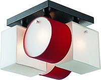 Потолочная люстра Altalusse INL-9252C-04 White & red, фото 1