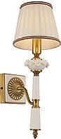 Бра Altalusse INL-6122W-01 Golden Brass/White