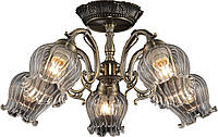 Люстра потолочная Altalusse INL-6127C-05 Antique Brass