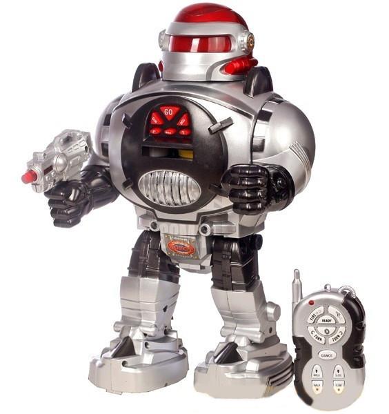 Робот M 0465 / 28083B на радиоуправлении,озвученный