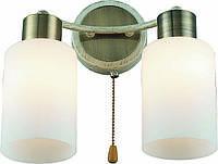 Бра Altalusse INL-9270W-02 Antique Brass & Beige